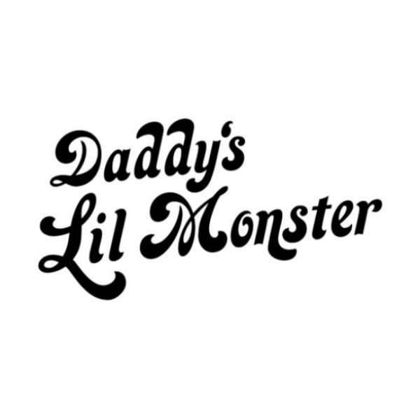 Daddys Lil Monster Decal