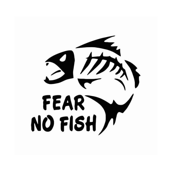 Fear No Fish Decal
