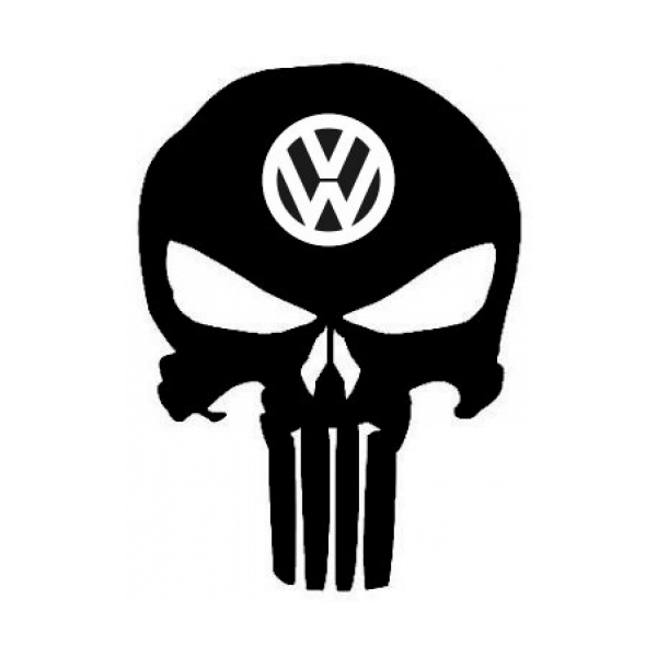 Punisher Skull Vw