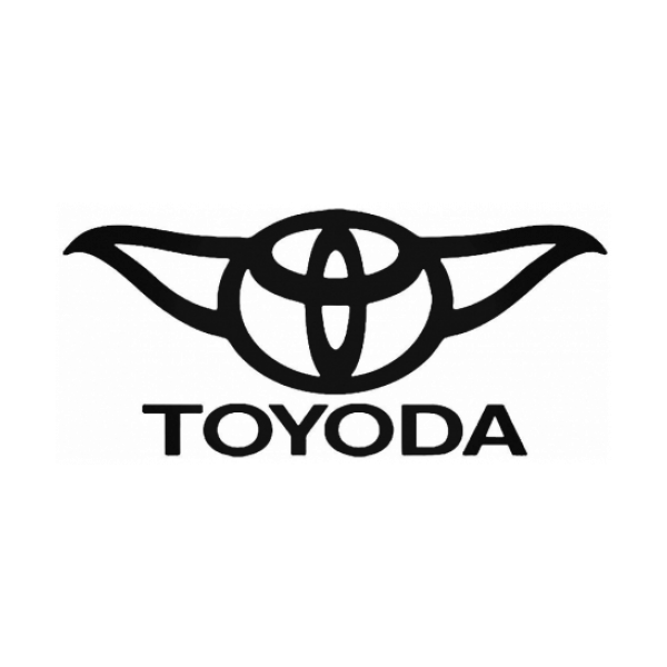 Toyoda Toyota Decal