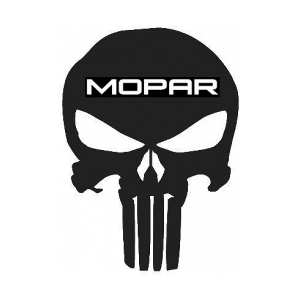 Punisher Skull Mopar Emblem