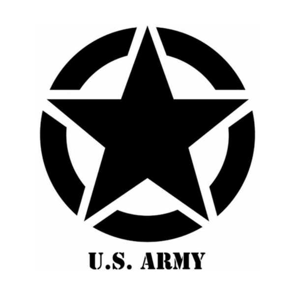 Jeep Us Army Star