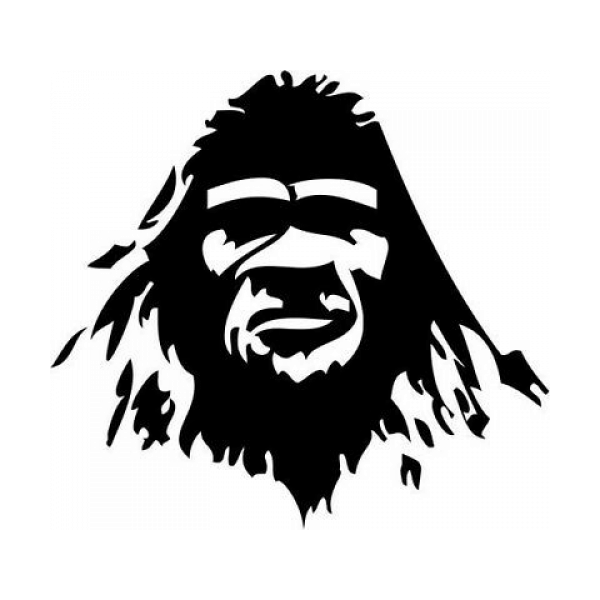Bigfoot Sasquatch Yeti Head