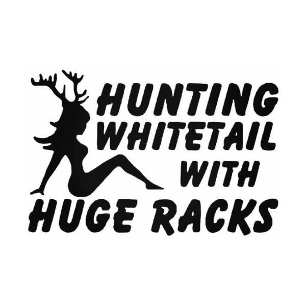 Hunting Whitetail With Huge Racks Sexy Girl Woman