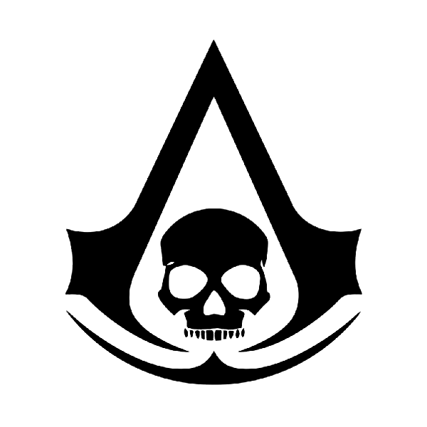 Black Flag Assassins Creed Pirate Skull