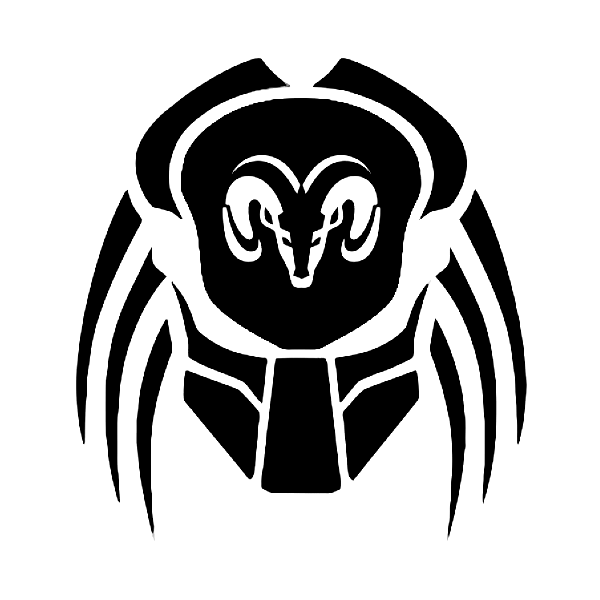 Dodge Ram Predator Mask Decal