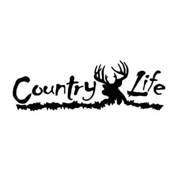Country Life Decal Sticker