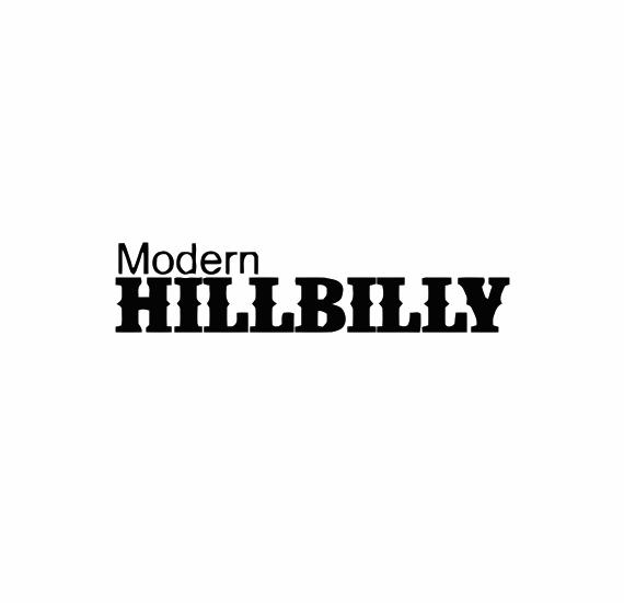 Modern Hillbilly Decal Sticker
